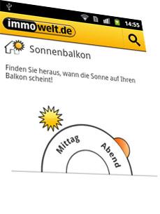 Sonnenbalkon App