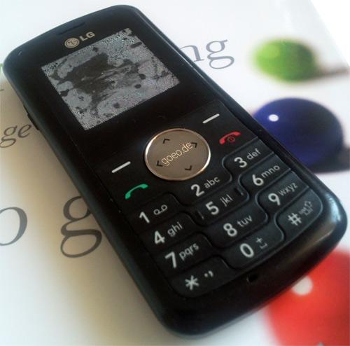 Mein geliebtes LG KP 100 Handy