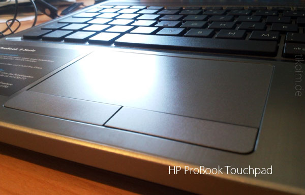 HP ProBook 4535s Tochpad