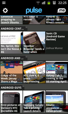 Pulse App für Android