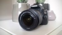 Canon 100D mit EF-S 18-55 DC III