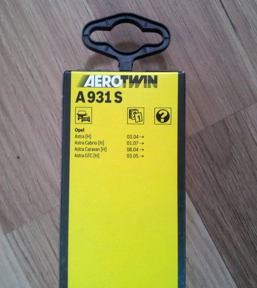 Bosch A-931s Aero Twin