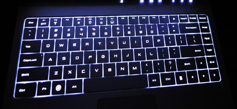 Hintergrundbeleuchtung Tastatur
