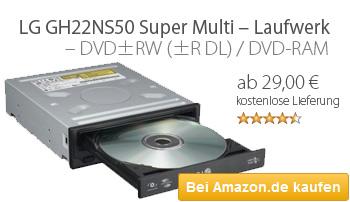 DVD Brenner LG GH22NS50