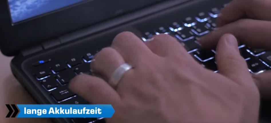 Business Notebooks mit langer Akkulaufzeit, beleuchteter Tastatur