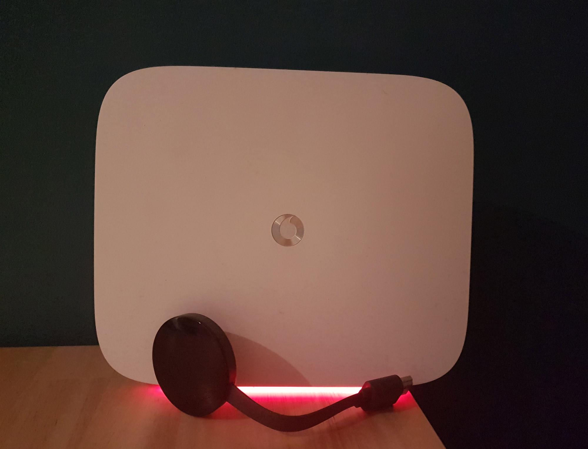 Easybox-804 und Chromecast 2