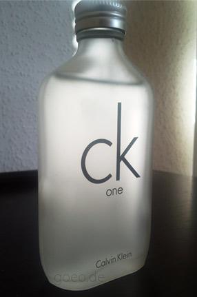 CK ONE große 100 ml Flasche