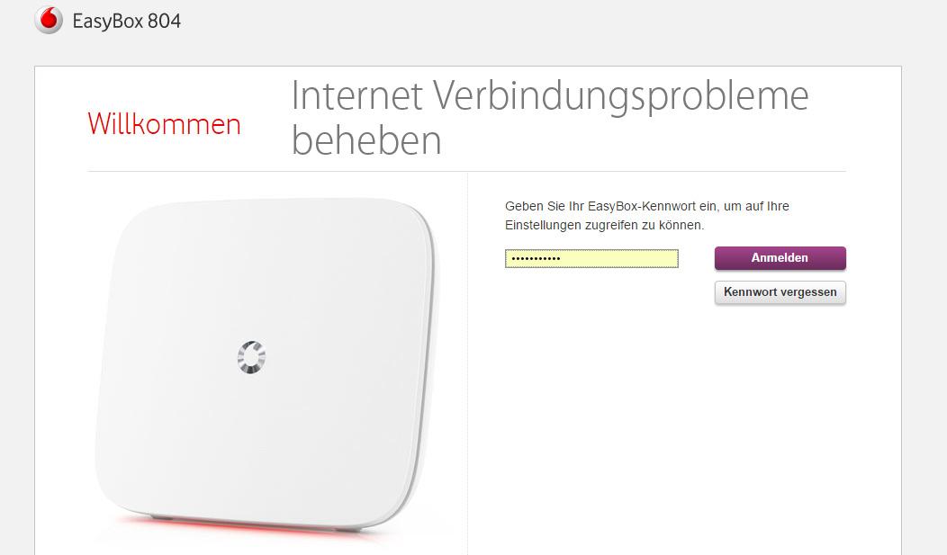Internet ständig langsam oder weg - Neustart der EasyBox hilft ...