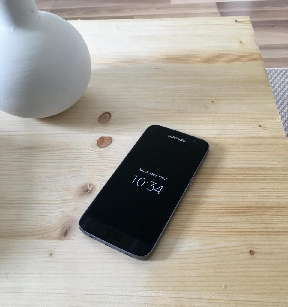 Galaxy S7 Vorderseite