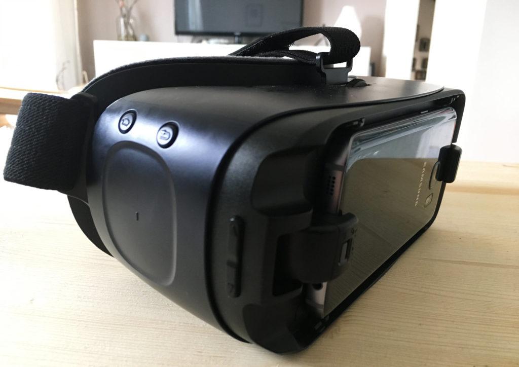 Gear VR Brille