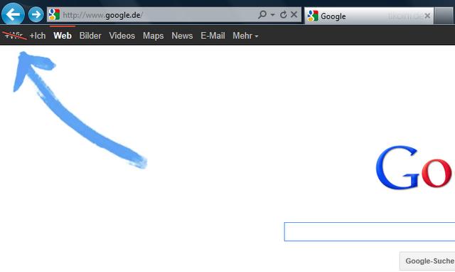 Google +Wir – +Ich