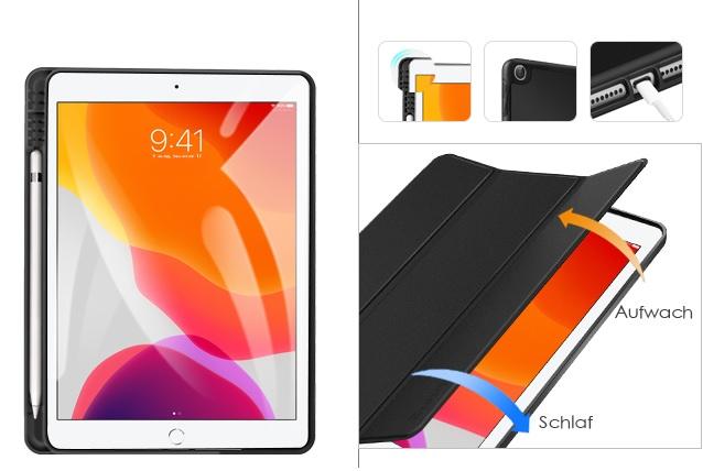 iPad Hülle mit Stifthalter für iPad 7/8 Generation