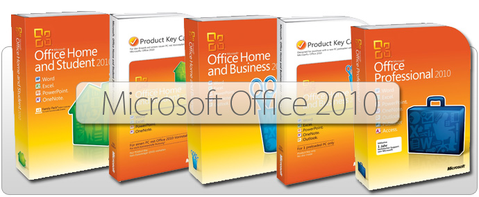 Microsoft Office Suite 2010