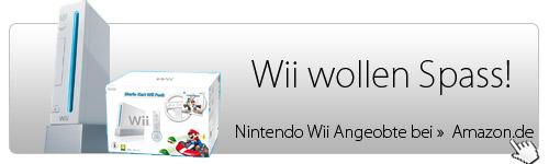 Nintendo Wii kaufen - Wii Angebot - Wii wollen Spass