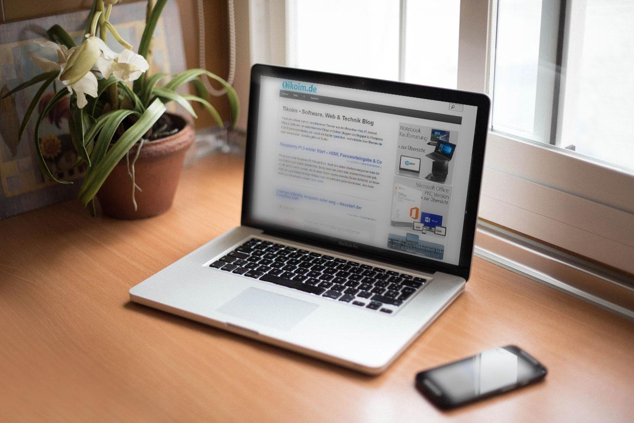 Responsives Mockup Webdesigner