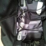 Rucksack in Großaufnahme