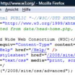 W3C Quellcode